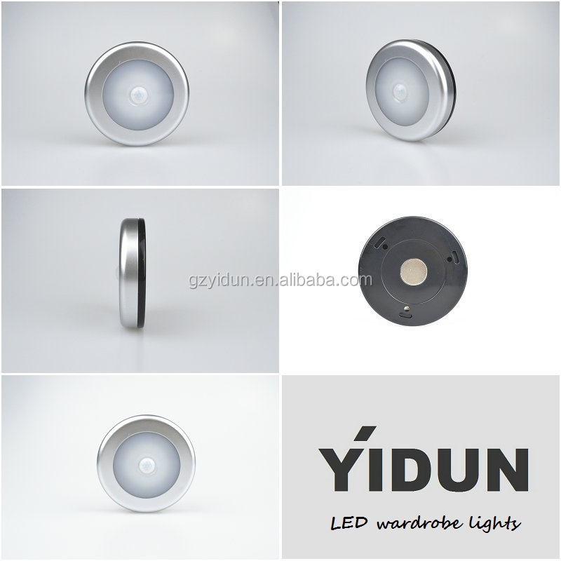 Yidun Lighting Wireless Motion Sensor Battery Operated