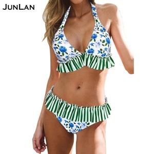 15e4840877 Wholesale Big Bust Underwire Women High Cut Swimsuit Two Piece Bikini  Latest Sexy Trends