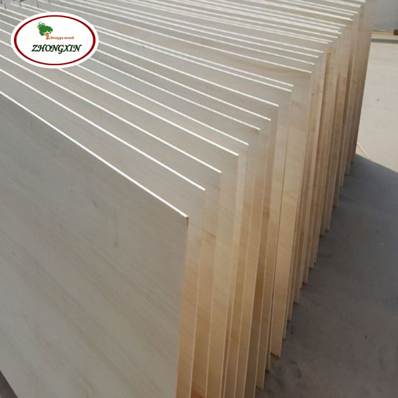 Wood Strip Factory Manufacturer Paulownia Wooden Log Chips Joint Lumber Board