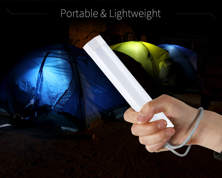 UYLED Magnetic USB Rechargeable LED Bivvy Tent Light for Carp Fishing