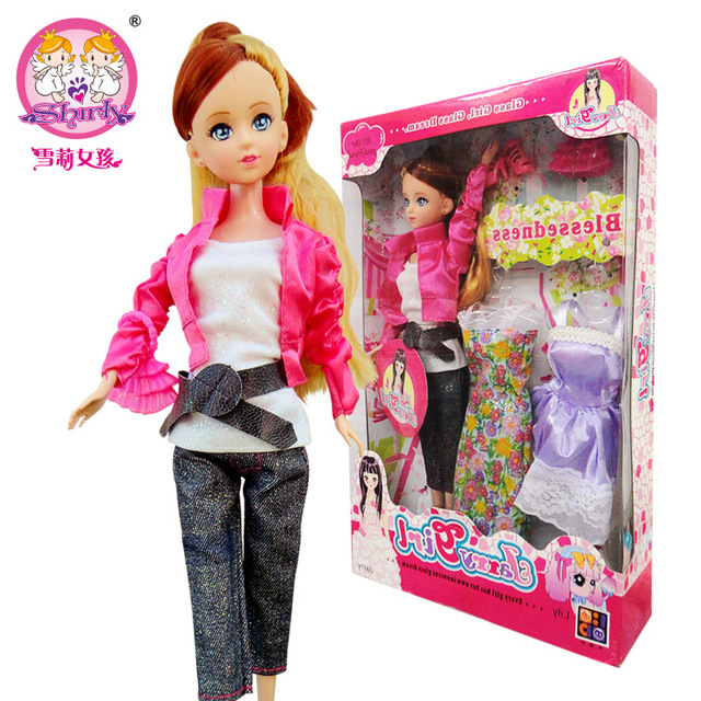2015 funny Rushed Top dress suit shoes bag for Barbie doll ...