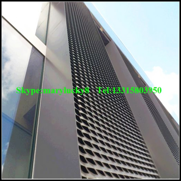 Aluminum Expanded Metal Wall Cladding