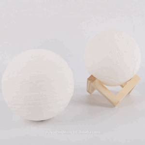 3D Optical Night Light Earth Lamp Touch Lamp 18cm