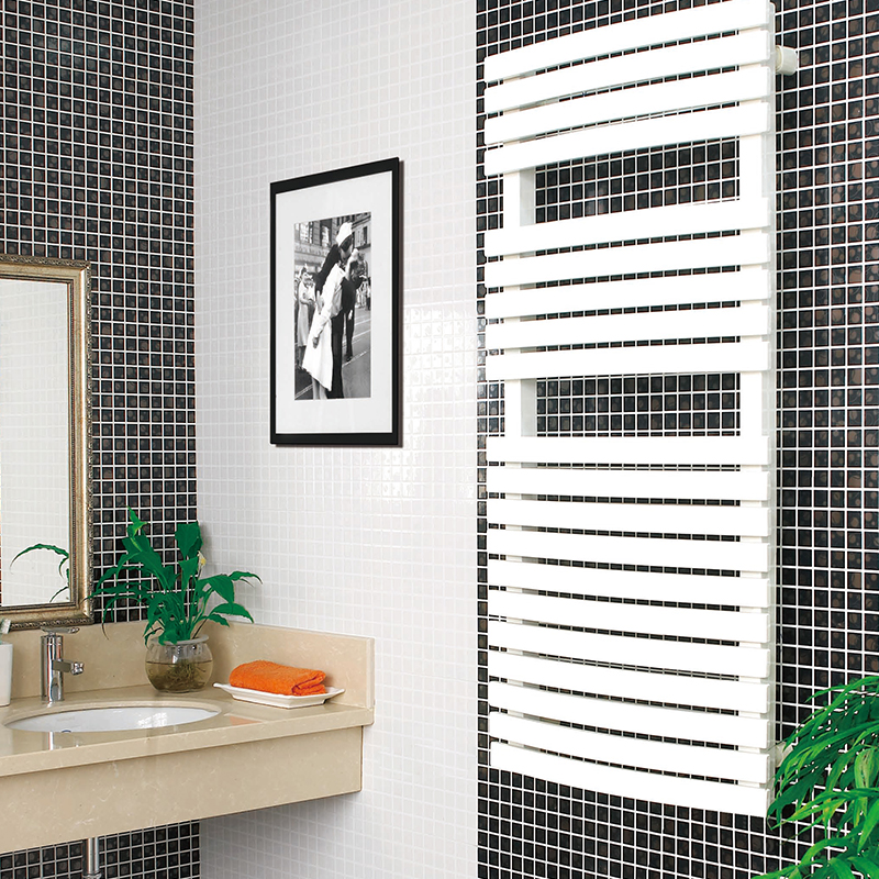 2017 most popular stainless steel electrically heated towel rail