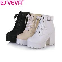 Dámske kotníkové topánky s platformou