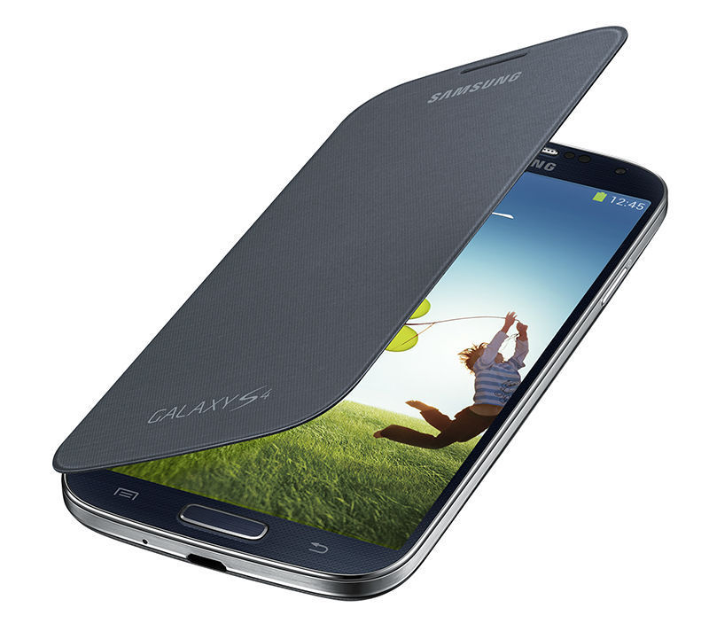 For Galaxy S4 Kajsa Ultra Thin PU Leather Back Housing Case Cover With View Window Case Phone Bag For Samsung Galaxy S4