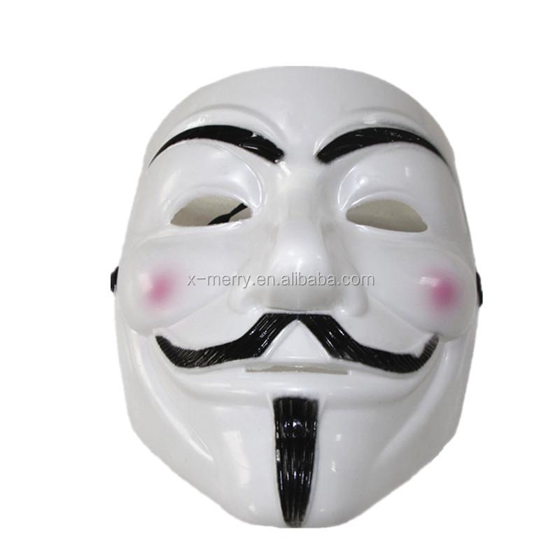 V For Vendetta Máscara V Máscara de Guy Fawkes Anônimo-Máscaras de ...