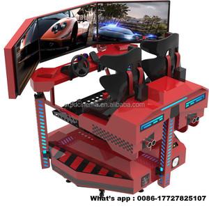 Video Game Simulator Driving Simulator, VR Car Racing Game Machine