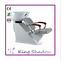2016 Kingshadow high quality shampoo chair and sink shampoo chair wash unit salon shampoo bed