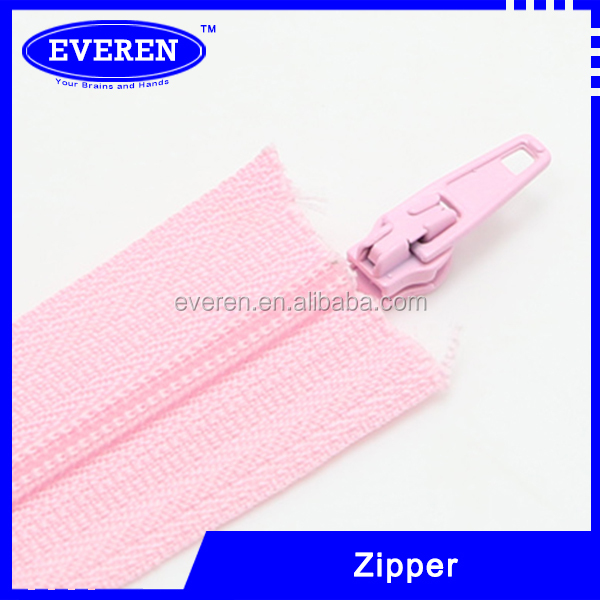 Customized 3# invisible lace tape zipper
