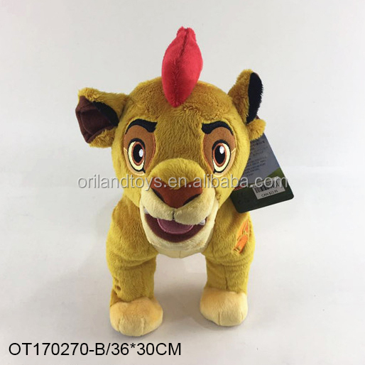 baby lions plush animals guard mini stuffed plush-kion toy