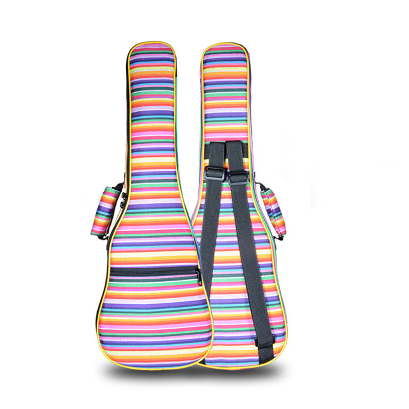 thicker portable 23 24 inch hawaii ukulele case small bass guitar bag soft gig cover lanikai. Black Bedroom Furniture Sets. Home Design Ideas