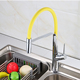 contemporary water kitchen faucet with locks