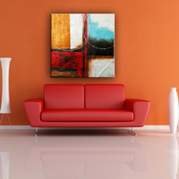 China cheap wholesale famous artist abstract painting canvas art