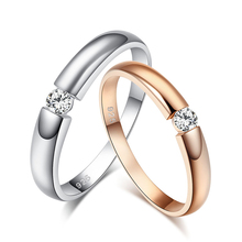 Free Shiping New Italian Style Brand Jewelry 925 Sterling Silver Cubic Zirconia Classic Ring for Women&Men Engagement J1632