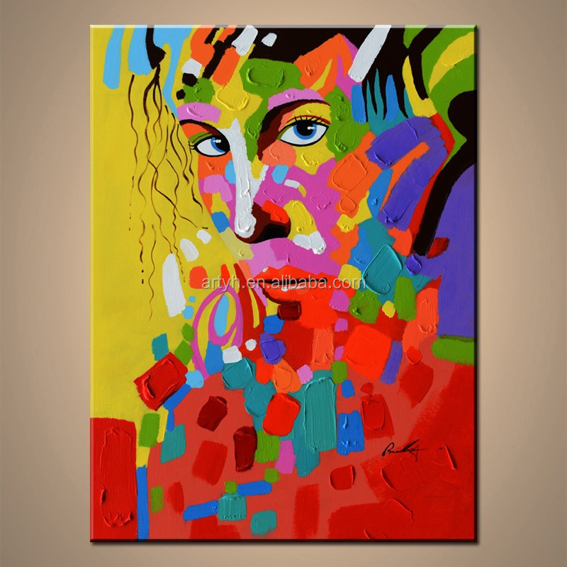 Pop Abstract Lady Famous Abstract Paintings Faces Buy Abstract Paintings Faces Pop Face Painting Modern Face Painting Product On Alibaba Com