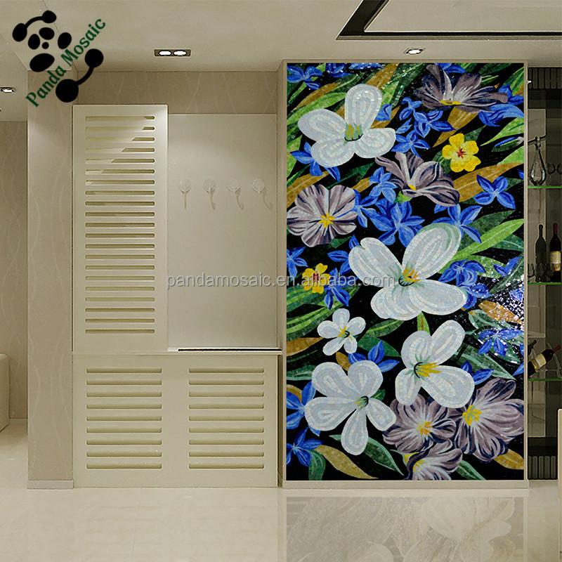 Smm01 moda dise o mural de la pared mosaico azulejos para for Azulejos pared exterior