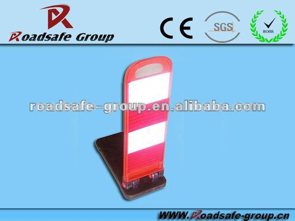 Roadway strength caution plastic traffic warning sign/ warning notice/warning board