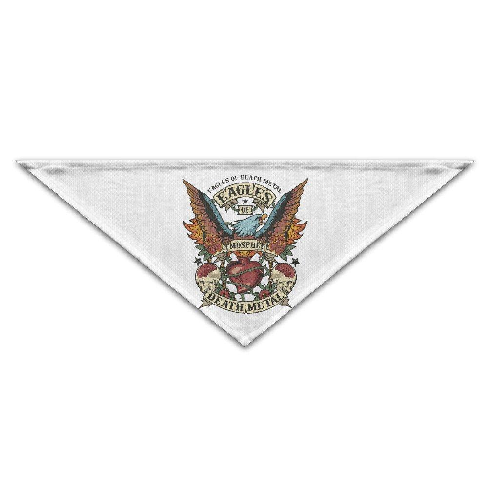 Sady eagles band logo death metal don henley dog pet bandana scarf scarves