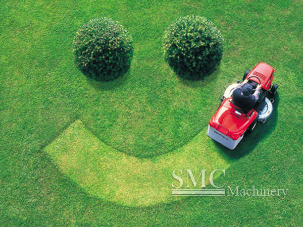 Double Blade Lawn Mower