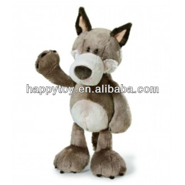 HI EN71 Cheap Custom Wolf Plush Toy