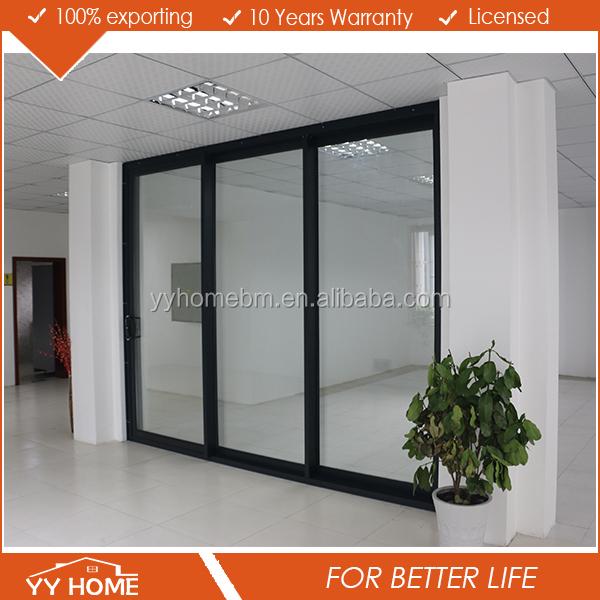 yy home heavy duty aluminium glass sliding door