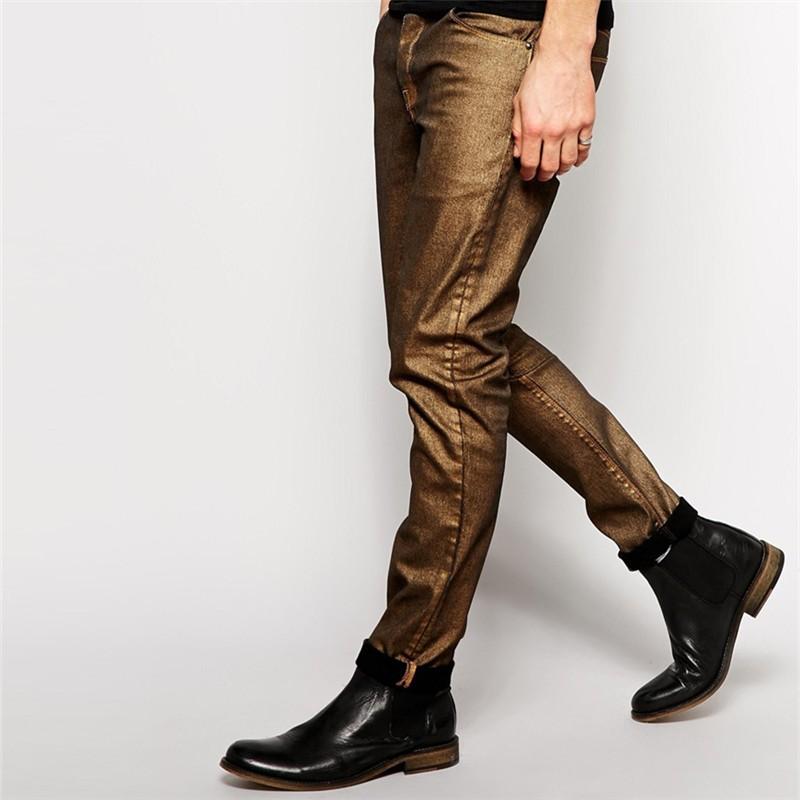 skinny fit goldenen neue stil jeans hose m nner jeans produkt id 60148968501. Black Bedroom Furniture Sets. Home Design Ideas