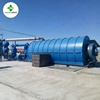 High efficiency Municipal solid waste to energy power pyrolysis plants