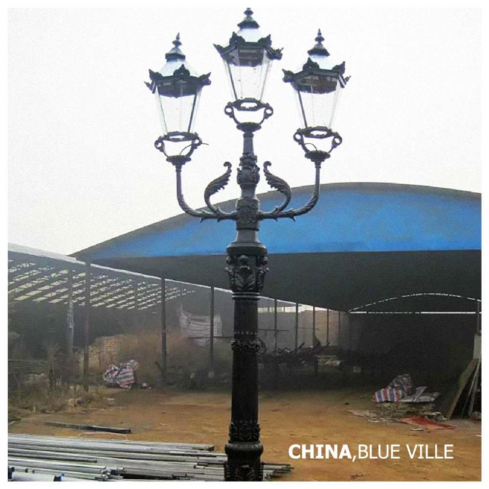 Cast iron outdoor lamp post wholesale lamp post suppliers alibaba aloadofball Image collections