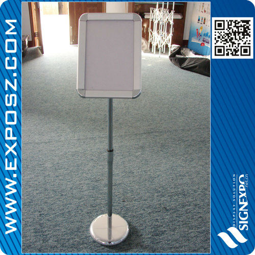 Aluminum A4 Size Adjustable Sign Stand