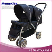 Google china wholesale market 2012 hot sale twin baby stroller stroller for twins double stroller