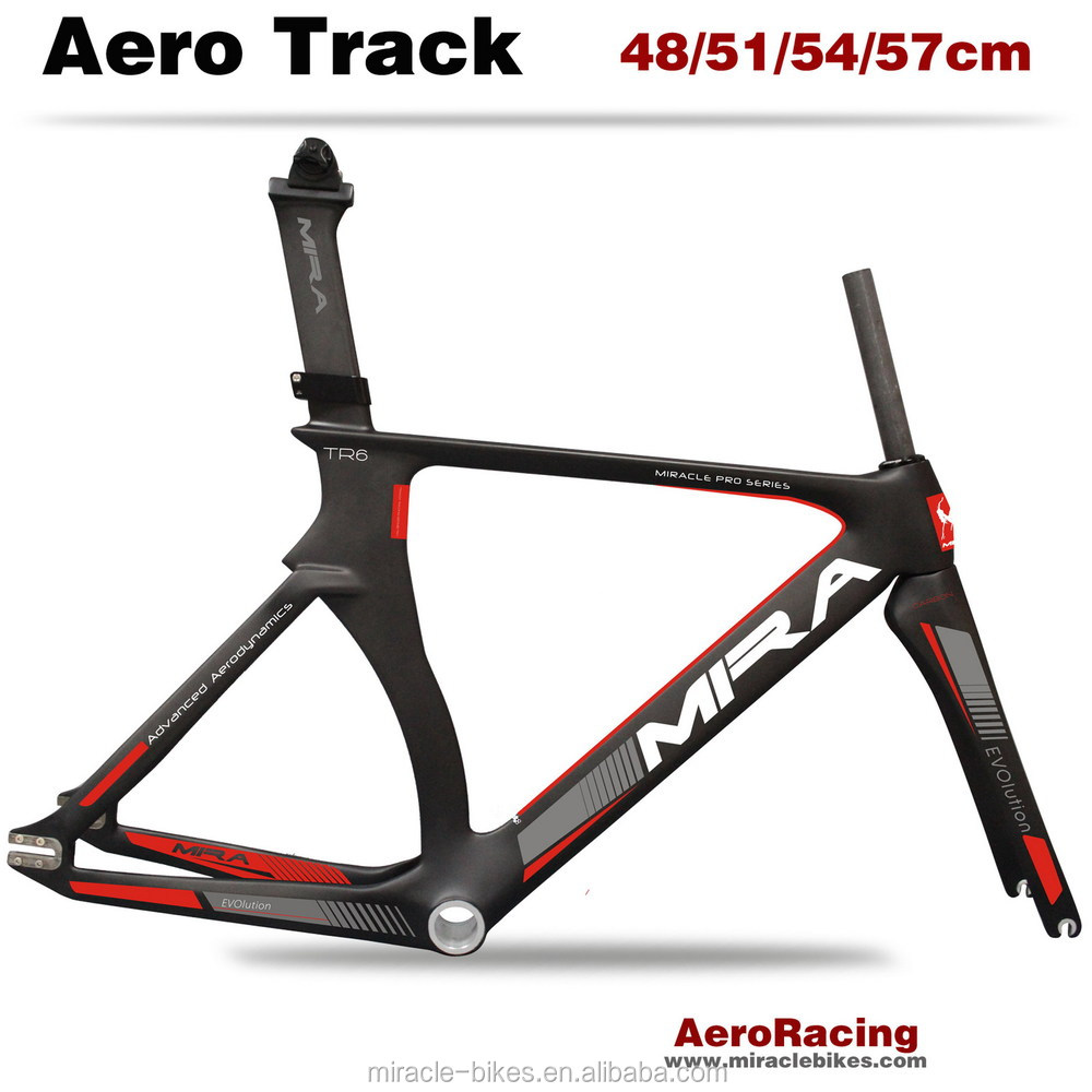 2017 Miracle New Track Bikes Carbon Frame Track Carbon Frame View