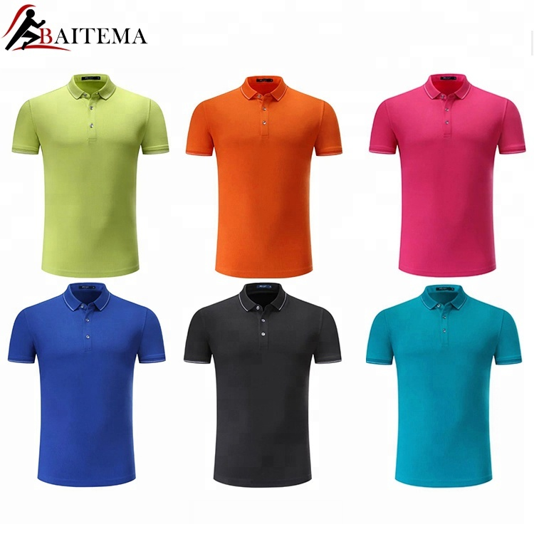 eeb9af958ae OEM Service Man s Solid Color Promotion Dry Fit Polo T-Shirt Custom Mens Polo  Shirt 100% Cotton