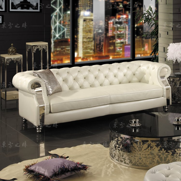2015 new chesterfield sofa modern living room sofas sf301 3. Black Bedroom Furniture Sets. Home Design Ideas