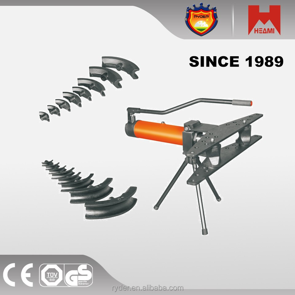 Manual hydraulic pipe bending machines for tube/bar/roller