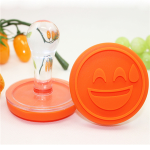silicone custom cookie stamp cookie cutter