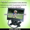 Universal Stand Alone 7 inch Car Rearview monitor,Car Moniter With the Automatic Reversing Function, Good For Backing Car.