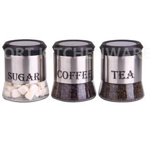 Gl Sugar And Coffee Storage Jar Set Supplieranufacturers At Alibaba