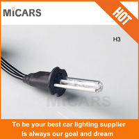 Make in china OEM Good quality factory price HID Bulb, popular easy DIY 35W12V Single beam hid xenon headlight From MiCARS