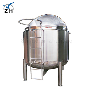 20m3 sanitary stainless steel food grade storage tank for molasses honey chocolate