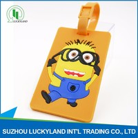 Unique Design With Low Price Rubber Hang Luggage Tag