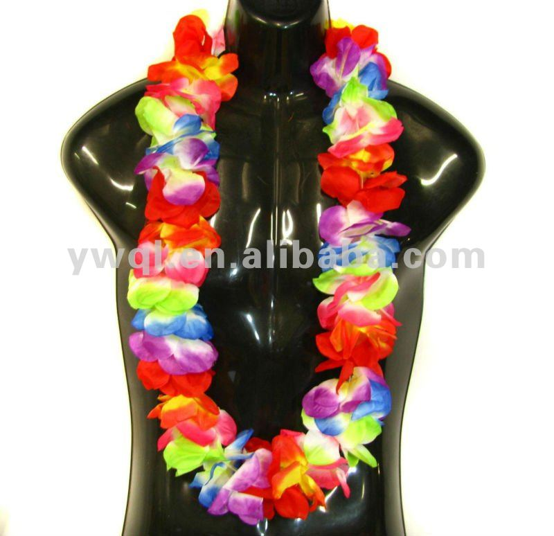 artificial flower leis