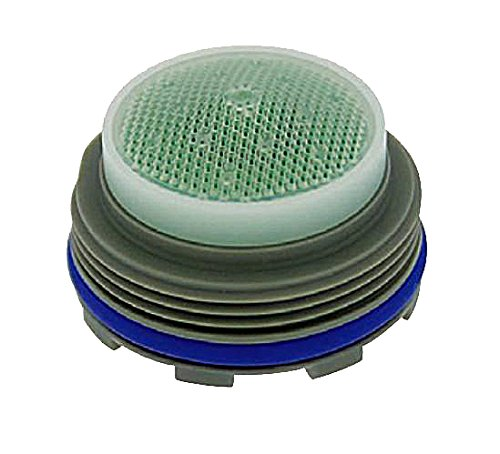 Neoperl 10 4350 5 Standard Flow PCA Care Aerator Insert with Washer Regular 2.2 GPM Yellow Dome Screenless Cascade Laminar
