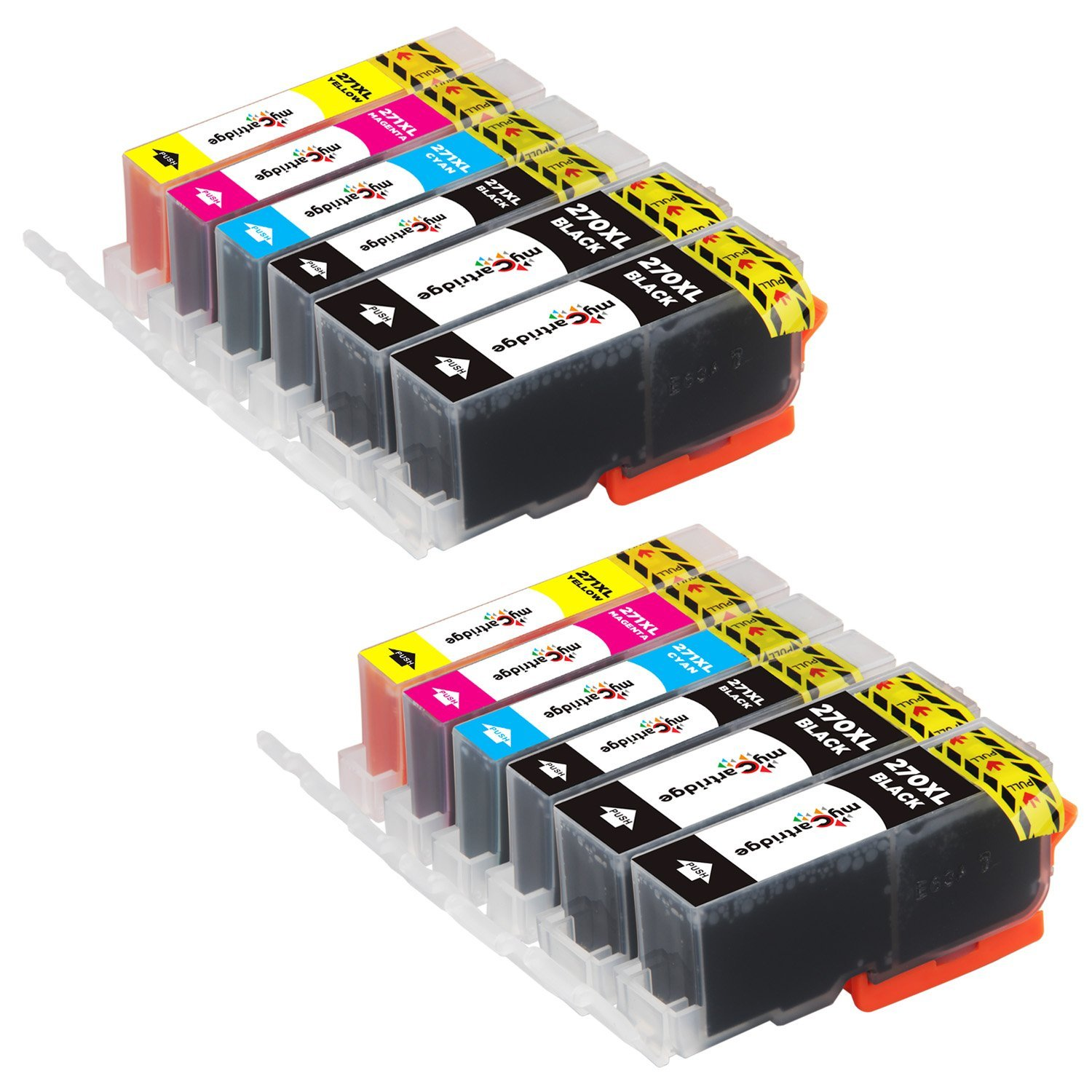 Cheap Canon Pgbk 5 Ink Find Deals On Line At Cartridge Cli 751 Yellow Xl Get Quotations Mycartridge 12 Pack Compatible Pgi 270xl 271xl 270 271