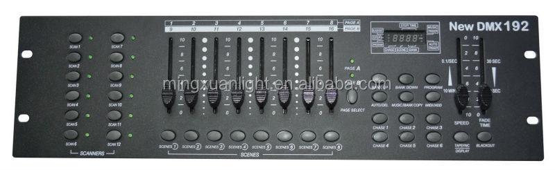 New 192 Dmx Controller Multi Channel Led 1024 Dmx Controller