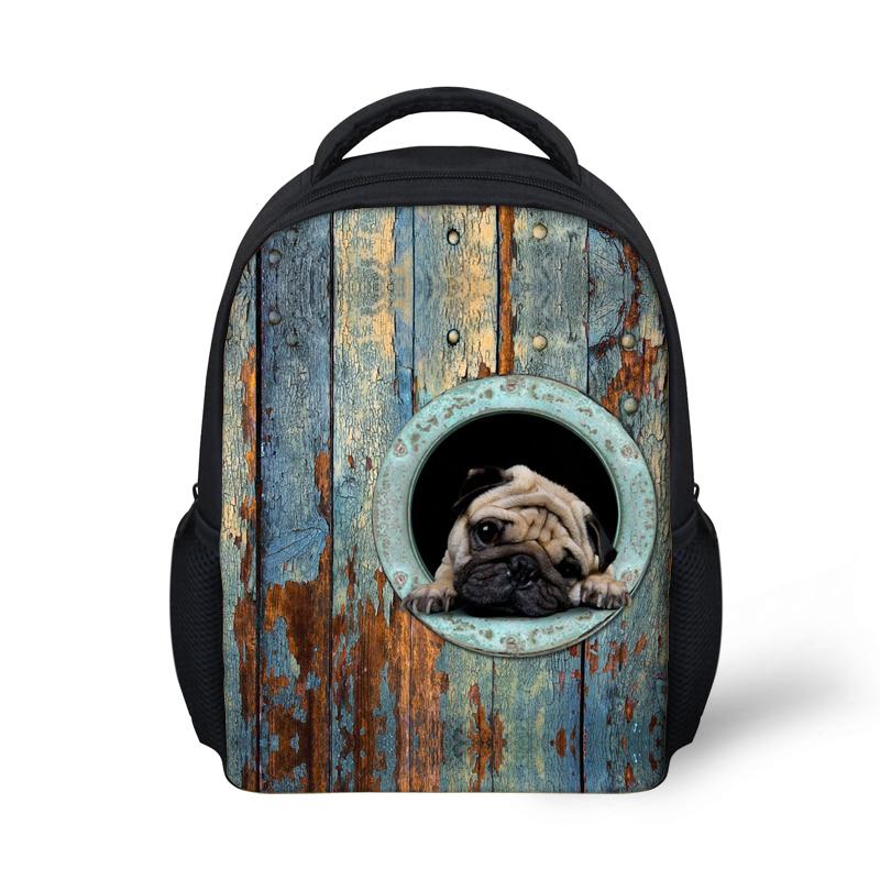 Get Quotations · Mini 3D Animals Printing Backpacks For Kindergarten Boys f575f06232d6b