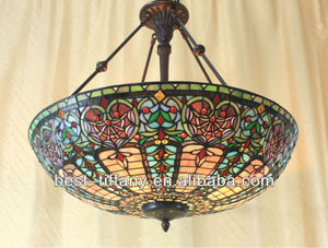 Beautiful lovely Tiffany close/ceiling lamp *CLC234