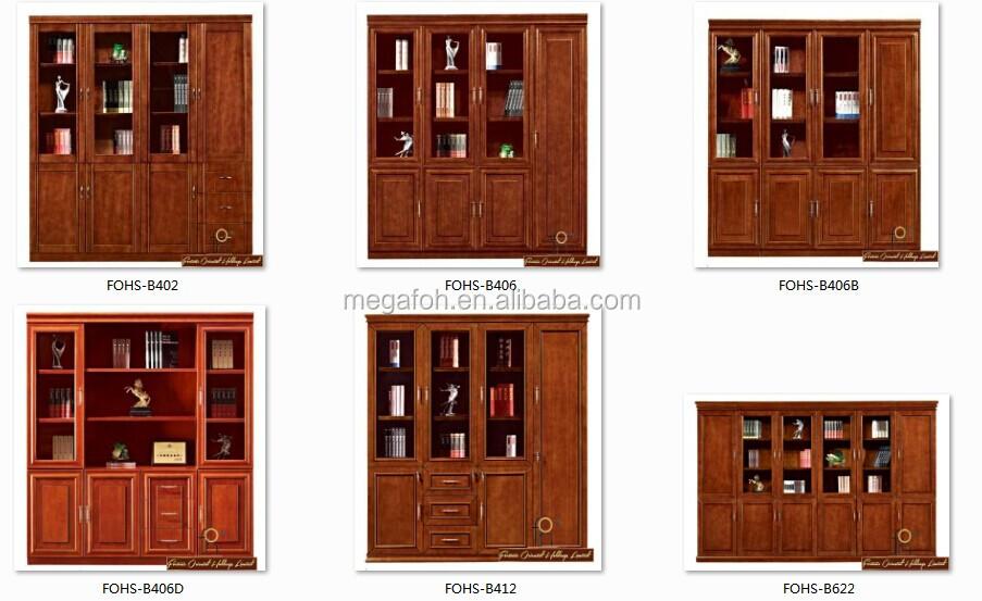 8 Doors Large Display Cabinet / Cabinet Shelves / Multipurpose Cabinet /  Wooden Bookcase(FOHS