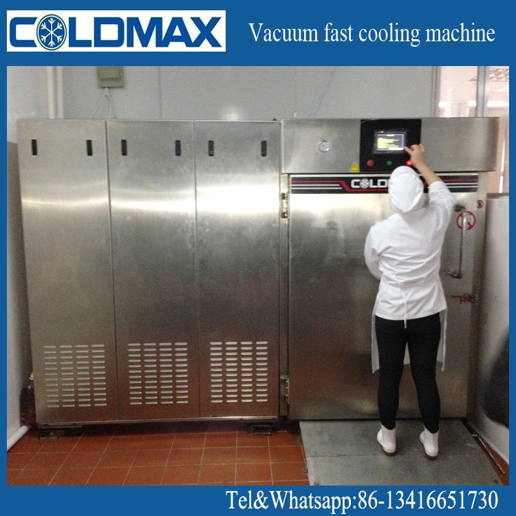 restaurant food processing machine for 100kg fast food cooling