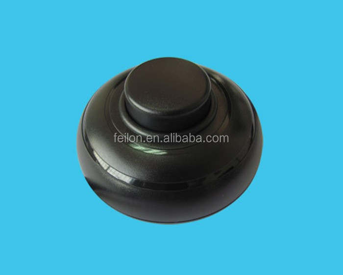 250V/2A electric foot switch black/white color can choose